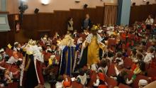 Llegada de los Reyes Magos al Loreto
